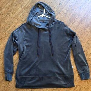 Marika velour hoodie